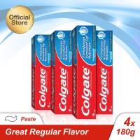 Colgate Great Regular 180gr - 4pcs (As4-114731-6920354815522)