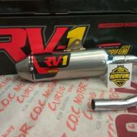 Knalpot Racing Norifumi RV1 NF PnP KLX 150 S L BF DTracker RV 1