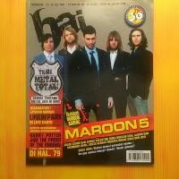 Majalah Hai No.30 Edisi 23-29 Juli 2007 Cover Maroon 5