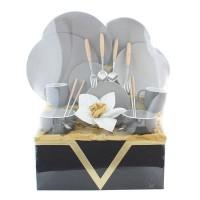 parcel hari natal dinnerwere keramik couple