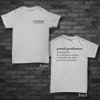 T-Shirt Proud Gentleman