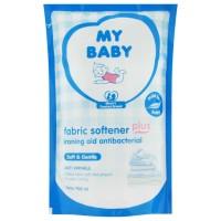 My Baby Fabric Softener Soft Gentle REFILL 700 ml Pelembut Pewangi Pak