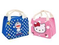 Lunch bag tas bekal karakter lucu hello kitty doraemon Sitch T033