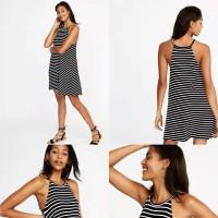 Oldnavy Swing dress stripe Black-White