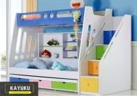 Ready Tempat tidur anak Custom , Bunkbed