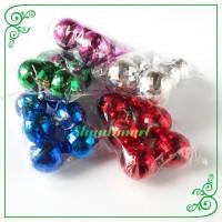 Hiasan Natal Bola Disco x6 Dekorasi Pohon Pajangan Gantung Christmas