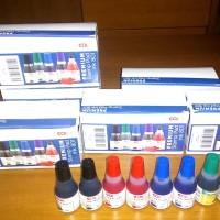 Tinta Stempel Premium Stamp Pad Ink COLOP Berbagai Warna