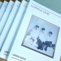 ALBUM WANNA ONE - 1:X=1 UNDIVIDED Lean On Me ver Original kpop