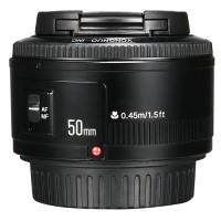 Lensa Yongnuo YN 50mm 50 mm f1.8 f/1.8 f 1.8 Canon