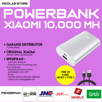 [HOT] Powerbank Xiaomi 10000 mAh ORIGINAL ! / Mi Power bank