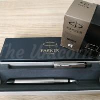 Paket 1 Klik: 1pcs Parker Vector SS Fountainpen + 1 botol Tinta Quink