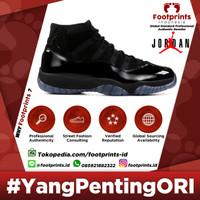 Nike Air Jordan 11 Cap and Gown Prom Night Black Original Sneakers