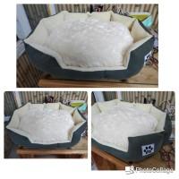 Tempat Tidur Kucing Anjing 60x40cm PetBed Kasur Ranjang Bantal Kucing