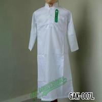 Baju Koko Gamis Jubah Putih Anak Laki - laki Lengan Panjang GAK 007L