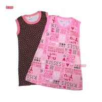 (ISI 3 PC) TERMURAH! Daster Yukensi uk 3-5 th / Dress Anak Perempuan