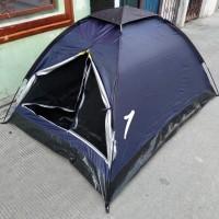 tenda camping dome kap 2-3 orang size 210X150X110 cm waterproof