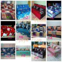 sofabed/sofa bed inoac ukuran 200x120x20