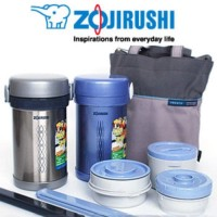 Zojirushi Lunch Box / Lunch Jar 3 Susun