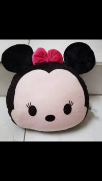 Boneka Bantal Tsum tsum Minnie Mouse
