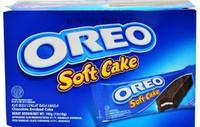 OREO SoftCake - Bolu lembut Rasa OREO - 1 boks isi 12 bolu lezat oreo