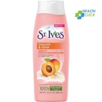 St. Ives Smooth & Glow Exfoliating Apricot Body Wash 400ml