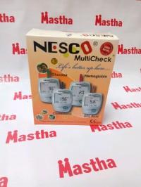 Alat Cek up Tes Gula Darah Urat Kolesterol Nesco 3in1 Gcu