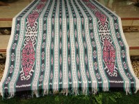 tenun ikat troso   kain tenun jepara blanket antik ethnic batik modern
