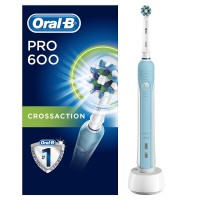 Oral-B Pro 600 CrossAction Electric Toothbrush Rechargeable
