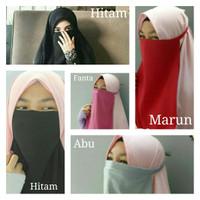 Cadar Tali Niqab bukan hanya Niqob Wolfis Kualitas Premium