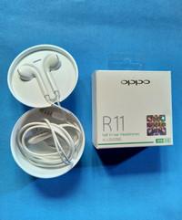 Headset / Earphone Oppo R11 Original 100% Handsfree R 11 ori