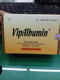 VipAlbumin ISI 30 Kapsul @ 500 Mg