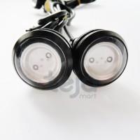 Lampu LED Mata Elang Eagle Eye 12V 23mm Variasi/Aksesoris Motor Mobil