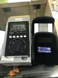 korg GT-120 Chromatic Tuner Gitar basd