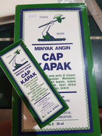 Minyak Angin Cap Kapak 28 ml