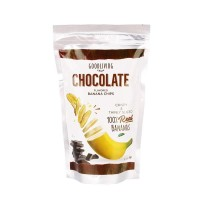 Goodliving - Chocolate Banana Chips - Keripik Pisang Coklat - 55gr