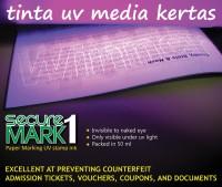 Tinta Stempel UV Kertas | | UV Invisible Ink | SecureMark1