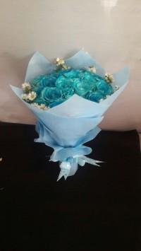 Buket Wisuda / Kado Bunga / Buket Bunga / Bunga Mawar Fresh