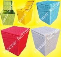 Keranjang Box BAJU Bayi Kotor/Bersih/Laundry dari Rotan