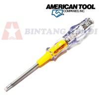 harga American tool obeng test pen ac 2 way mini 6  / tespen bolak balik Tokopedia.com