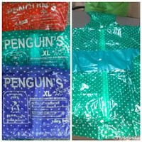 jas hujan pinguin