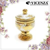 Vicenza Medallion Jar - Guci Toples Medalyon Small CR722S Gemini