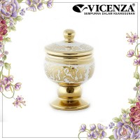 Vicenza Medallion Jar - Guci Toples Medalyon Small CR722S Aries