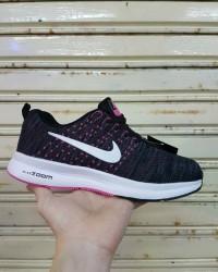 harga Nike zoom women / cewe wanita black pink / sepatu sneakers running gym Tokopedia.com
