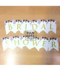 Banner Bridal Shower / Party Flag / Paper Bunting Bridal Shower