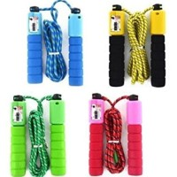 Jump Skipping Rope Soft Handle Counter Tali Skiping Hitung Automatis