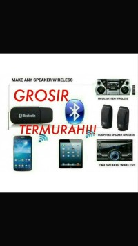 Receiver Wireless Bluetooth USB Speaker Audio