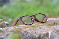 kacamata kayu original model moscot serat asli doff