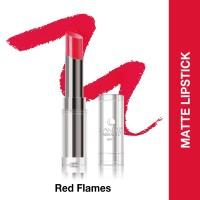 Lakme Abs Reinvent Sculpt New Hi-Definition Matte Lipstick Red Flames