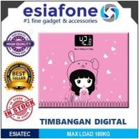 harga Timbangan badan kaca 180kg esiatec cartoon digital scale sc-01 sc-02 Tokopedia.com