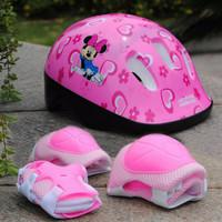 Helm dan deker Sepeda Anak / Sepatu Roda / skuter anak